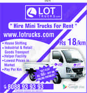 Online Truck booking Bangalore