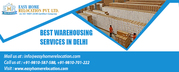 Contact For Best Warehousing Services in Delhi Today