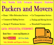 Relocation Services Quotes Top 10 Packers and Movers Pune